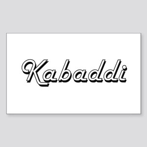 Kabaddi Classic Retro Design Sticker