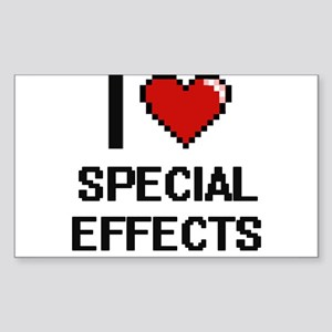 I love Special Effects Digital Design Sticker