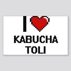 I Love Kabucha Toli Digital Design Sticker