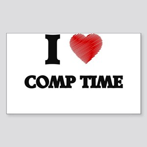 comp time Sticker
