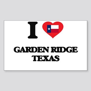 I love Garden Ridge Texas Sticker
