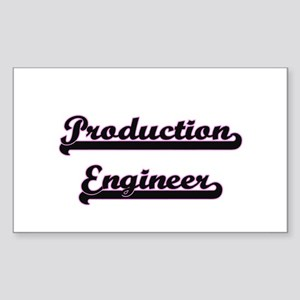Production Engineer Classic Job Design Sticker