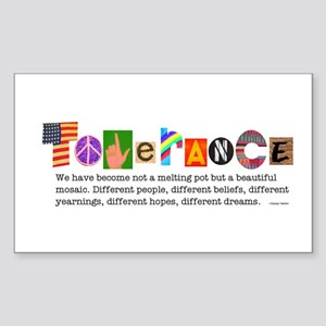 Tolerance Rectangle Sticker