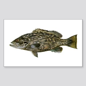 Grouper Sticker (Rectangle)