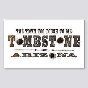Tombstone Rectangle Sticker