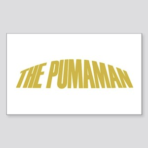 Pumaman Rectangle Sticker
