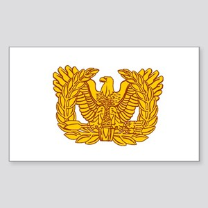 Warrant Officer Symbol Sticker (Rectangle)