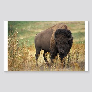 Bison Sticker (Rectangle)