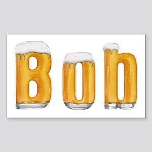 Bob Beer Rectangle Sticker