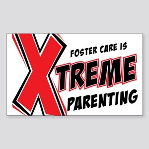 Xtreme Parenting Rectangle Sticker