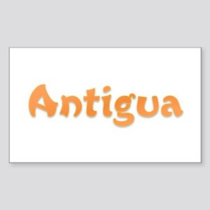 Antigua Rectangle Sticker