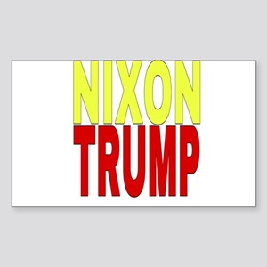 Nixon Trump Sticker