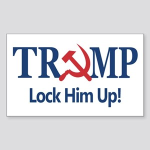 Lock Him Up Sticker