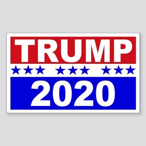 Trump 2020 Sticker (Rectangle)
