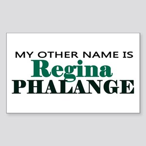 'Regina Phalange' Sticker (Rectangle)