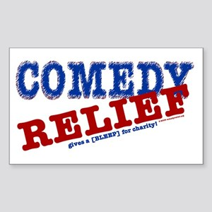 Comedy Relief Limited Edition Sticker (Rectangle)