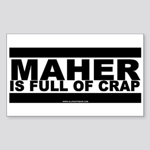 Maher Rectangle Sticker