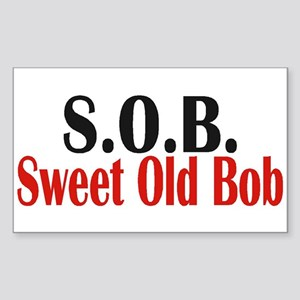 Sweet Old Bob - SOB Sticker
