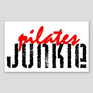 pilates JUNKIE Rectangle Sticker