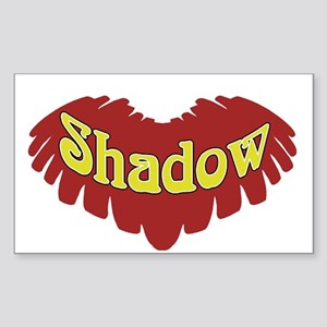Shadow Rectangle Sticker