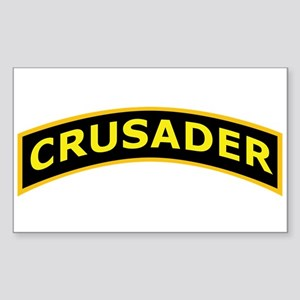 Crusader Shoulder Tab Sticker