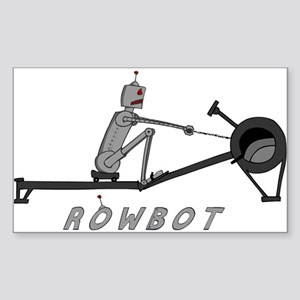 Rowbot Sticker (Rectangle)