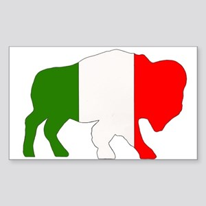 Italian Buffalo Sticker