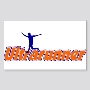 Ultrarunner Oval Sticker