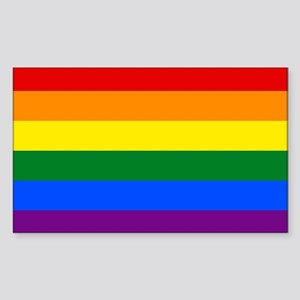 Gay Pride Sticker (Rectangle)