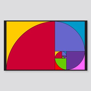Pop Art Fibonacci Sticker