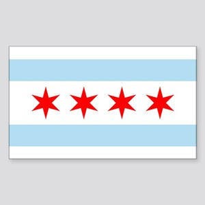 Chicago Rectangle Sticker
