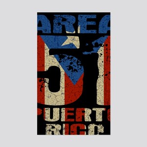 puerto-rico-51-BUT Sticker (Rectangle)