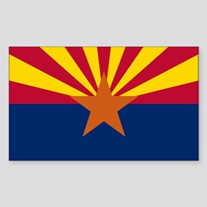 ARIZONA STATE FLAG Sticker