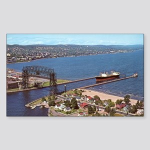 Duluth Harbor Rectangle Sticker