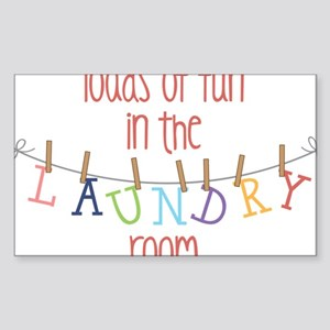 Laundry Hanging Sticker