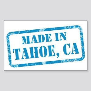 MADE IN TAHOE, CA Sticker (Rectangle)