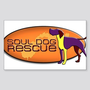 Soul Dog Rescue Sticker
