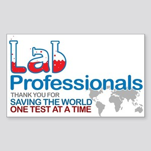 Saving the world one test at a time Sticker