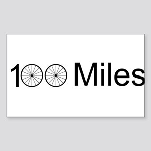 Century Ride Sticker