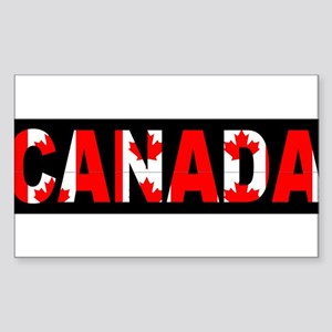 CANADA-BLACK Sticker