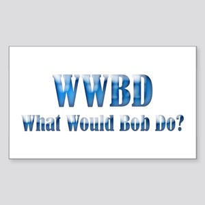 WWBD Rectangle Sticker