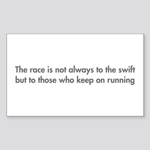 race-is-not-always-to-the-swift-fut-gray Sticker