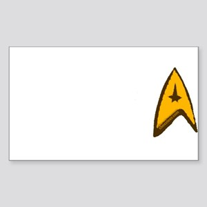 Star Trek Sticker (Rectangle)