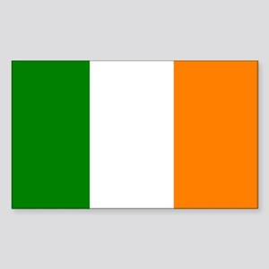 Ireland Flag Rectangle Sticker