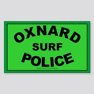 Oxnard Surf Police Rectangle Sticker