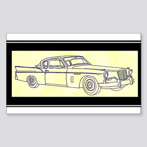 """1956 Packard Hawk?"" Rectangle Sticker"