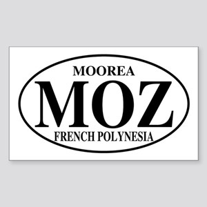 MOZ Moorea Rectangle Sticker