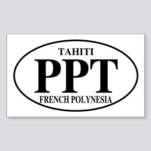 PPT Tahiti Rectangle Sticker