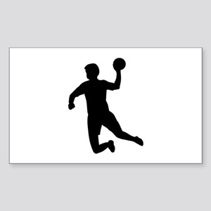 Handball player Sticker (Rectangle)