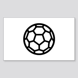 Handball ball Sticker (Rectangle)